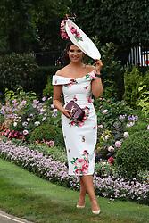 June 19, 2018 - Ascot, United Kingdom - Image licensed to i-Images Picture Agency. 19/06/2018. Ascot , United Kingdom. Opening day of Royal Ascot, United Kingdom. (Credit Image: © Stephen Lock/i-Images via ZUMA Press)
