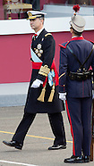 Spanish Royal Family attend Military Parade at National Day, Madrid 12-10-2015