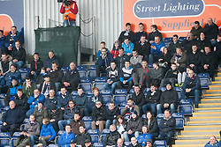 South stand.<br /> Falkirk 5 v 0 Cowdenbeath, Scottish Championship game played today at The Falkirk Stadium.<br /> © Michael Schofield.