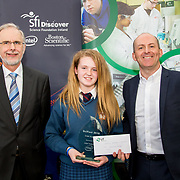 27.04.2016.          <br />  Kalin Foy and Ciara Coyle win SciFest@LIT<br /> Kalin Foy and Ciara Coyle from Colaiste Chiarain Croom to represent Limerick at Ireland's largest science competition.<br /> <br /> Desmond College student, Kayla McMahon's project , Intelligent Fire Extinguisher System won the INTEL Technology Award. Kayla is pictured with George Porter, SciFest and Brian Ahern, Intel<br /> <br /> Of the over 110 projects exhibited at SciFest@LIT 2016, the top prize on the day went to Kalin Foy and Ciara Coyle from Colaiste Chiarain Croom for their project, 'To design and manufacture wireless trailer lights'. The runner-up prize went to a team from John the Baptist Community School, Hospital with their project on 'Educating the Youth of Ireland about Farm Safety'.  Picture: Alan Place
