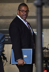 © Licensed to London News Pictures. 04/09/2019. London, UK. Conservative party Chairman JAMES CLEVERLY MP is seen at the Houses of Parliament in Westminster, London. British Prime Minister Boris Johnson has a called for a general election after losing his first commons vote and losing his majority, removing his control of parliament. Photo credit: Ben Cawthra/LNP