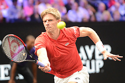 September 22, 2018 - Chicago, Illinois, United States - KEVIN ANDERSON in his match vs. N. Djokovic in the 2018 Laver Cup tennis event in Chicago. (Credit Image: © Christopher Levy/ZUMA Wire)