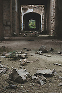 The Real School, built in the early 1900s and now abandoned, in Shushi, Nagorno-Karabakh.<br /> <br /> (September 23, 2016)