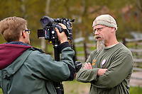 SVT interview with Joep van de Vlasakker, Wildlife Advisor to Rewilding Europe and the main organiser of the bison transportation. Transportation of European Bison, or Wisent, from the Avesta Visentpark, in Avesta, Sweden. The animals were then transported to the Armenis area in the Southern Carpathians, Romania. All arranged by Rewilding Europe and WWF Romania, with financial support from The Dutch Postcode Lottery, the  Swedish Postcode Foundation and the Liberty Wildlife Fund.