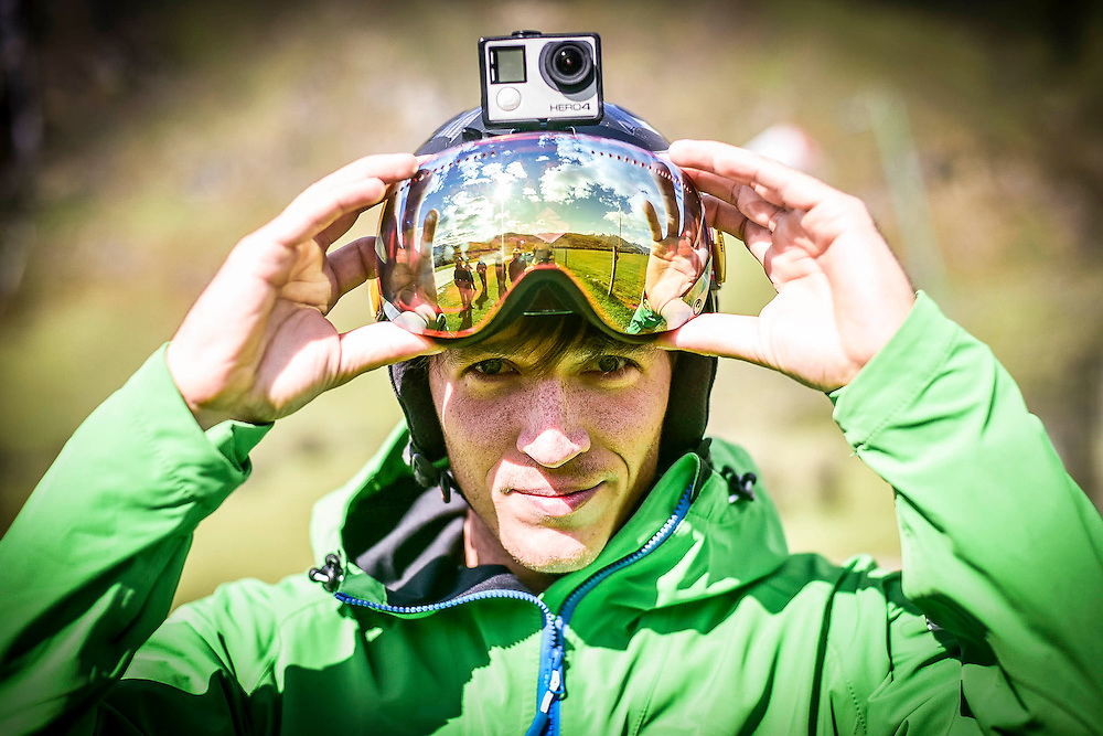 Marius Beck Dahle, Photographer and Speedflyer. Shot during the Ski and Fly NZ November 2015 Speedflying Camp.