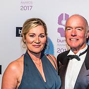 NLD/Hilversum//20170306 - uitreiking Buma Awards 2017, Ferdi Bolland en partner Marian Mulder