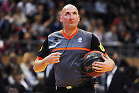 ARBITRE  - 17.01.2015 - Chalon sur Saone / Orleans - 17eme journee de Pro A<br /> Photo : Jean Paul Thomas / Icon Sport