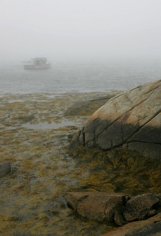 Vinalhaven, Maine 2007: .Fog
