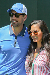 Jul 24, 2016 - Lake Tahoe, Nevada, U.S. - .Actress LISA OLIVIA MUNN ther to watch her Boyfriend, All-star NFL Quarterback, AARON RODGERS after playing at the Edgewood golf course during the ''American Century Championship'' celebrity golf. .(Credit Image: © Dane Andrew/ZUMA Wire/ZUMAPRESS.com)