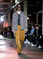 Qasimi, Catwalk show at London Fashion Week Men's, Truman Brewery Brick Lane London