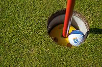 DOMBURG - verhoogde cup,  Domburgsche Golf Club in Zeeland (Walcheren) . vlag niet aanraken.  COPYRIGHT KOEN SUYK