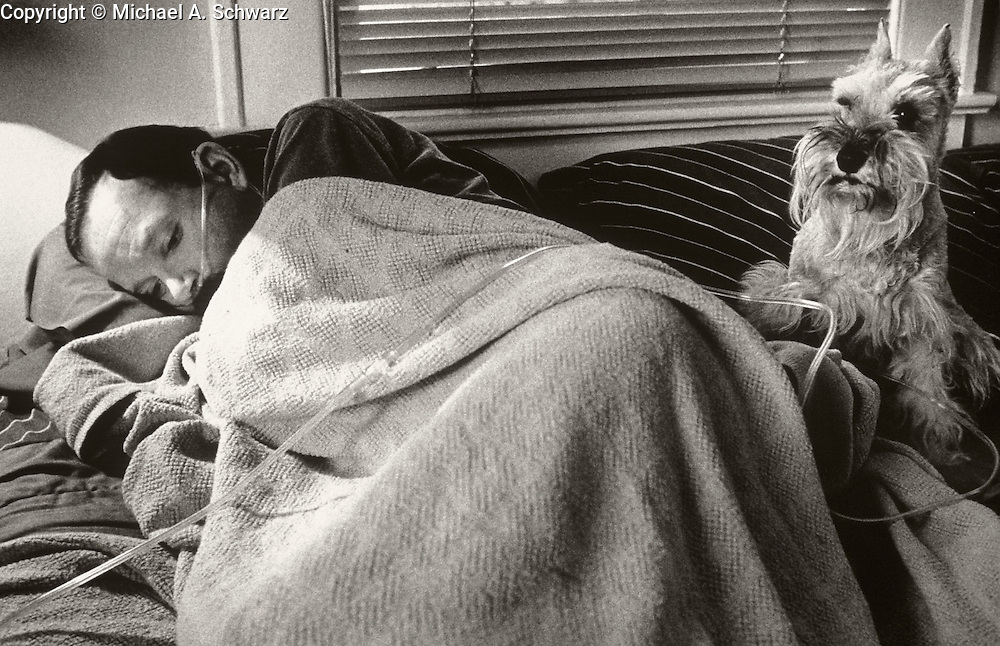 Atlanta, GA.  When AIDS Comes Home.  The story of Tom Fox, his friends and family, and their battle with AIDS.<br /> Photos by Michael A. Schwarz