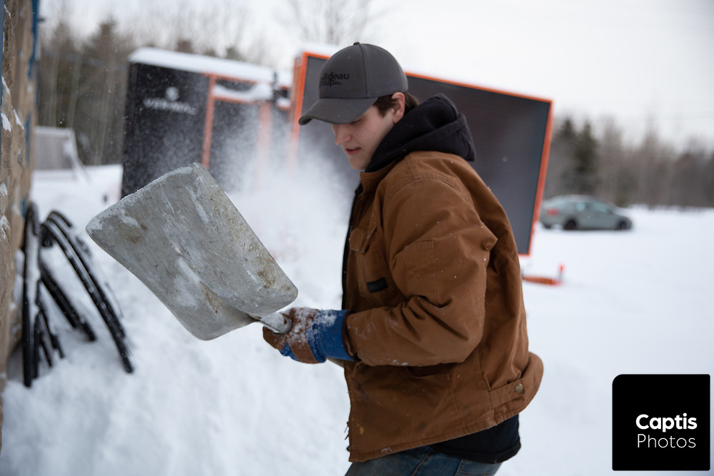 Shoveling out after what was hyped to be one of the biggest snow storms in years for Ottawa.