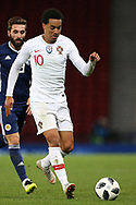 Portugal forward Helder Costa (10) (Wolverhampton Wanderers)  during the Friendly international match between Scotland and Portugal at Hampden Park, Glasgow, United Kingdom on 14 October 2018.