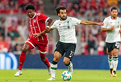 01.08.2017, Allianz Arena, Muenchen, GER, Audi Cup, FC Bayern Muenchen vs FC Liverpool, im Bild David Alaba (FC Bayern Muenchen), Mohamed Salah (FC Liverpool) // during the Audi Cup Match between FC Bayern Munich and FC Liverpool at the Allianz Arena, Munich, Germany on 2017/08/01. EXPA Pictures © 2017, PhotoCredit: EXPA/ JFK