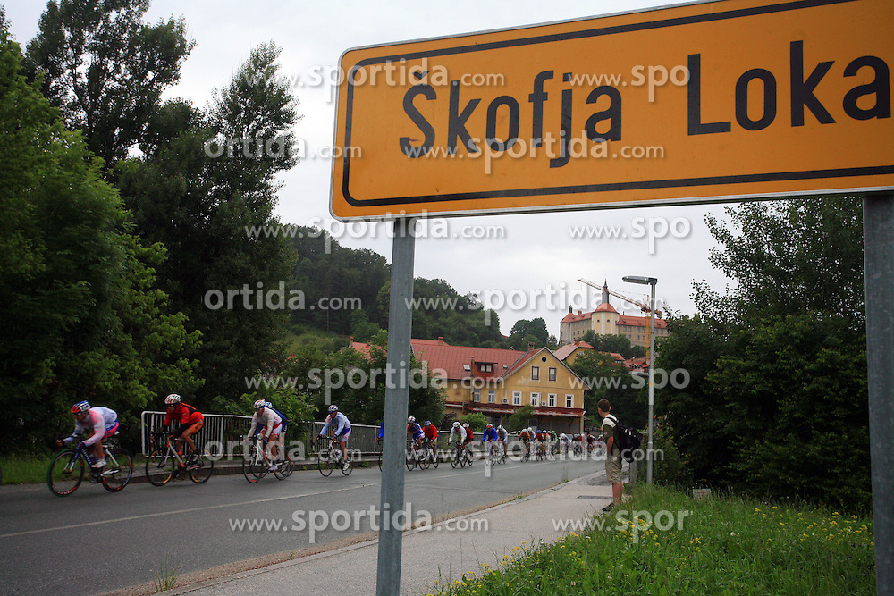 Riders in Skofja Loka during 3rd stage of the 15th Tour de Slovenie from Skofja Loka to Krvavec (129,5 km), on June 13,2008, Slovenia. (Photo by Vid Ponikvar / Sportal Images)/ Sportida)