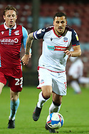 Antoni Sarcevic during the EFL Sky Bet League 2 match between Scunthorpe United and Bolton Wanderers at the Sands Venue Stadium, Scunthorpe, England on 24 November 2020.