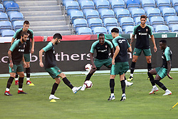 September 6, 2018 - Na - Loulé, 05/09/2018 - National Team AA: Preparation for the League of Nations: Adaptive training for the preparation match with Croatia at the Estádio Algarve. Luis Neto; William Carvalho; (Credit Image: © Atlantico Press via ZUMA Wire)