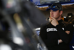 October 5, 2018 - Dover, Delaware, United States of America - Ty Dillon (13) hangs out in the garage during practice for the Gander Outdoors 400 at Dover International Speedway in Dover, Delaware. (Credit Image: © Justin R. Noe Asp Inc/ASP via ZUMA Wire)