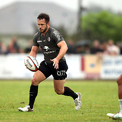 Zack Holmes of Toulouse during the pre-season match between Stade Toulousain Toulouse and Racing 92 at  on August 18, 2017 in Lannemezan, France. (Photo by Manuel Blondeau/Icon Sport)