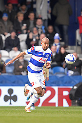 QPR's Karl Henry  - Photo mandatory by-line: Mitchell Gunn/JMP - Tel: Mobile: 07966 386802 01/03/2014 - SPORT - FOOTBALL - Loftus Road - London - Queens Park Rangers v Leeds United - Championship