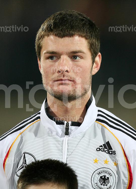 Fussball  International    U21 LAENDERSPIEL  Deutschland - Tschechische Republik    Marcel HELLER (GER)