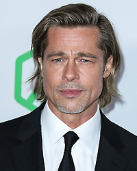 HOLLYWOOD, LOS ANGELES, CALIFORNIA, USA - JANUARY 18: 31st Annual Producers Guild Awards held at the Hollywood Palladium on January 18, 2020 in Hollywood, Los Angeles, California, United States. 18 Jan 2020 Pictured: Brad Pitt. Photo credit: Xavier Collin/Image Press Agency/MEGA TheMegaAgency.com +1 888 505 6342