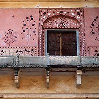 Asia, India, Amer. Fourth Courtyard of Amber Palace.