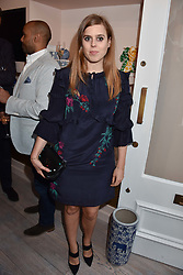 Princess Beatrice Of York at the launch of the Beulah Flagship store, 77 Elizabeth Street, London England. 16 May 2018.
