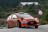 MOTORSPORT - WORLD RALLY CHAMPIONSHIP 2010 - RALLY BULGARIA / RALLYE DE BULGARIE - BOROVETS (BUL) - 08 TO 11/07/2010 - PHOTO : FRANCOIS BAUDIN / DPPI - <br /> SOLBERG Henning / MINOR Ilka - STOBART M-SPORT FORD RALLY TEAM - FORD Fiesta S2000 - ACTION