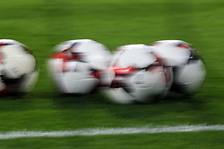 9 October 2017 -  2018 FIFA World Cup Qualifying (Group D) - Wales v Republic of Ireland - Motion blur of footballs - Photo: Marc Atkins/Offside