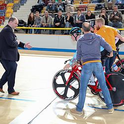 16-12-2016: Wielrennen: NK baanwielrennen: Apeldoorn