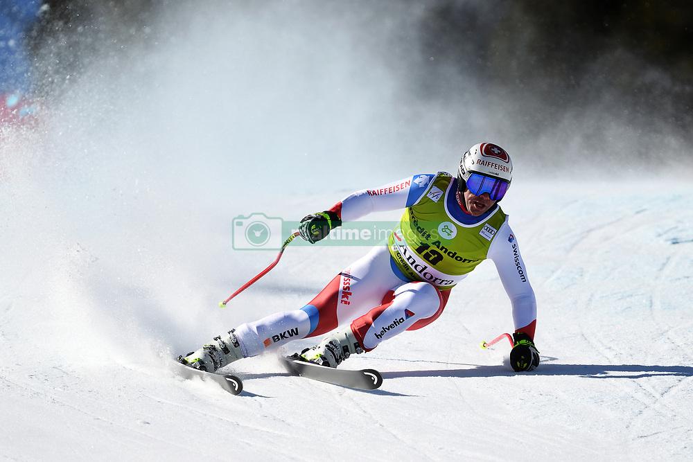 March 14, 2019 - ANDORRA - Beat Feuz (SUI) during Men's Super Giant of Audi FIS Ski World Cup Finals 18/19 on March 14, 2019 in Grandvalira Soldeu/El Tarter, Andorra. (Credit Image: © AFP7 via ZUMA Wire)