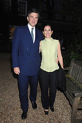 PRINCE & PRINCESS KARL VON AUERSPERG-BREUNNER at the annual Cartier Chelsea Flower Show dinner held at the Chelsea Physic Garden, London on 21st May 2007.<br /><br />NON EXCLUSIVE - WORLD RIGHTS