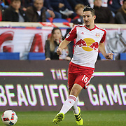 HARRISON, NEW JERSEY- November 06:  Sacha Kljestan #16 of New York Red Bulls in action during the New York Red Bulls Vs Montreal Impact MLS playoff match at Red Bull Arena, Harrison, New Jersey on November 06, 2016 in Harrison, New Jersey. (Photo by Tim Clayton/Corbis via Getty Images)