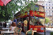 Eastern Europe, Hungary, Budapest, City Tour Bus