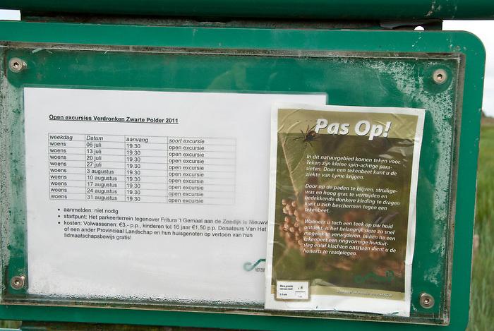 10 juni 2011 .Langs de kust van Zeeuws-Vlaanderen, is een natuurgebied met schorren en slikken, waar ook teken het goed doen...(c)renee teunis