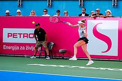 PORTOROZ, SLOVENIA - SEPTEMBER 18: Alison Riske of USA competes during the Semifinals of WTA 250 Zavarovalnica Sava Portoroz at SRC Marina, on September 18, 2021 in Portoroz / Portorose, Slovenia. Photo by Matic Klansek Velej / Sportida
