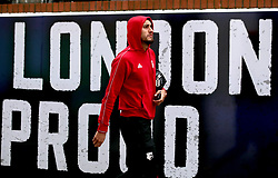 Watford's Roberto Pereyra arrives at the stadium prior to the Premier League match at Selhurst Park, London.