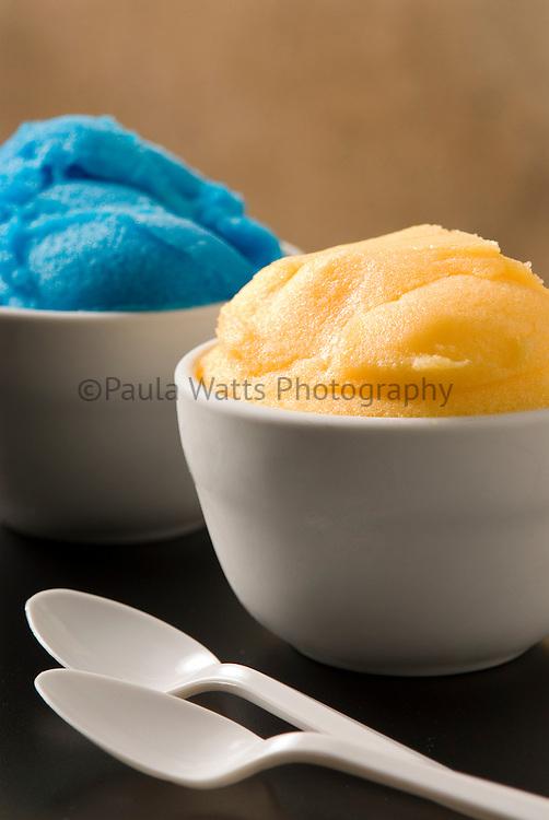 Italian gelato dessert