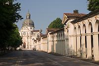 PORTICI E SANTUARIO DELLA MADONNA DI MONTE BERICO, VICENZA, VENETO, ITALIA