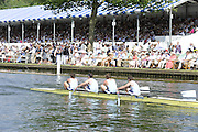 Henley, Great Britain. Heat of the Wyfolds Challenge Cup. Berks Sydney RC lead home Commercial RC Ireland  at  2009 Henley Royal Regatta.  Wednesday 01/07/2009 [Mandatory Credit. Peter Spurrier/Intersport Images] . HRR.