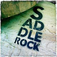 2013 March 10:  Malibu Winery location wine art.  Saddle Rock.  iPhone Hipsta
