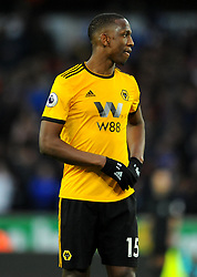 Willy Boly of Wolverhampton Wanderers- Mandatory by-line: Nizaam Jones/JMP - 02/03/2019 - FOOTBALL - Molineux - Wolverhampton, England -  Wolverhampton Wanderers v Cardiff City - Premier League