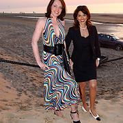 Beachclub Vroeger bestaat 1 jaar, esther Duller en zakenpartner Inge van der Spek