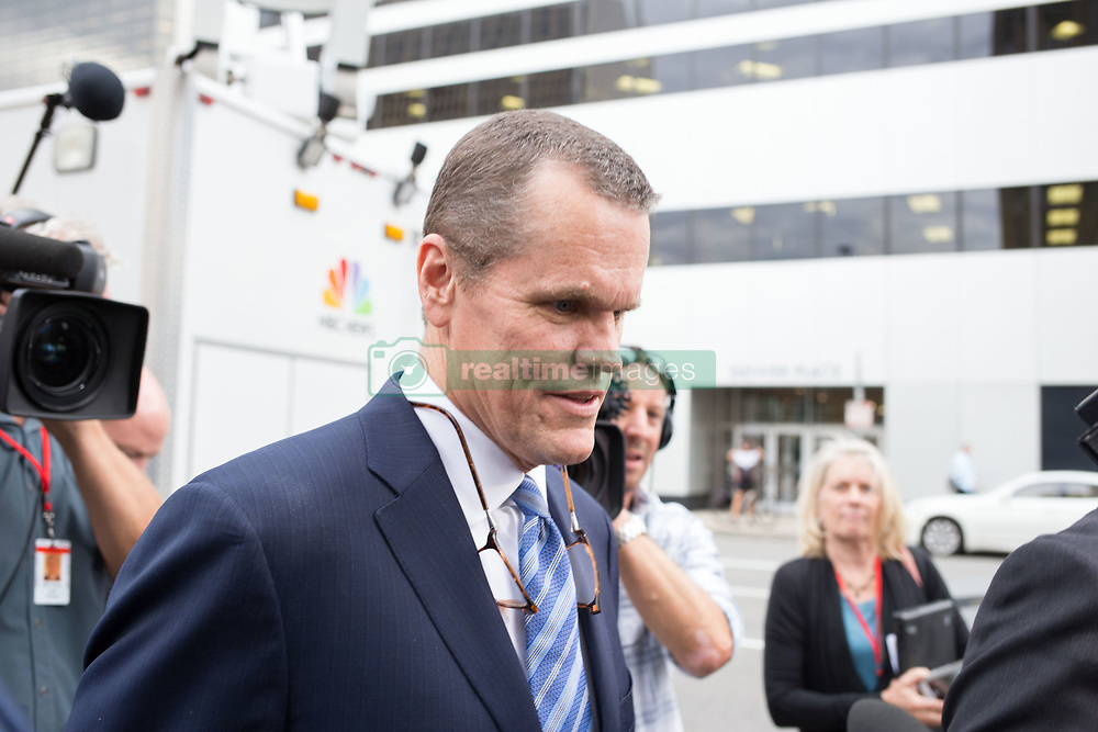 August 14, 2017 - Denver, Colorado, U.S - Attorneys for Taylor Swift leave the courthouse at the end of the Taylor Swift Groping Trial against radio DJ David Mueller at the Alfred A. Arraj United States Courthouse. She won her counter-suit. (Credit Image: © Matthew Staver via ZUMA Wire)