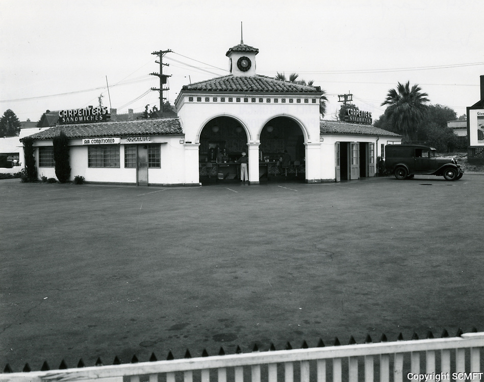 1934 Carpenter's Drive In at 3201 Wilshire Blvd.