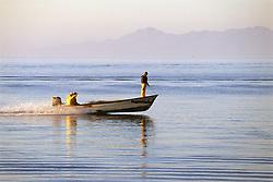 Fisherman In San Carlos