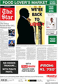 March 01, 2021 (AFRICA): Front-page: Today's Newspapers In Africa
