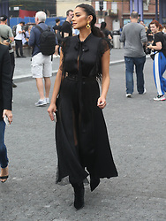 September 14, 2018 - New York City, New York, USA - 9/12/18.Shay Mitchell is seen attending the Michael Kors Fashion Show during New York Fashion Week in New York City..(NYC) (Credit Image: © Starmax/Newscom via ZUMA Press)